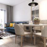 Căn hộ Botanica 3pn cho thuê gấp đầy đủ nội thất, tầng trung view công viên giá 22 triệu