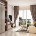 Cho thuê căn hộ 1PN gần sân bay – Botanica Premier Novaland, đầy đủ nội thất, giá Hot 14 triệu/tháng
