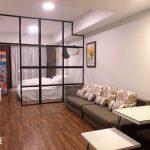 Cho thuê căn hộ 1PN chung cư Novaland đường Hồng Hà, tầng 18, full NT y hình 100%. Giá 15 triệu