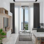 Ở liền căn hộ Botanica Premier căn hộ 2PN, đầy đủ nội thất, cho thuê 18tr/th.